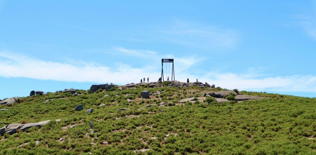 The giant swing at the Porta do Mezio