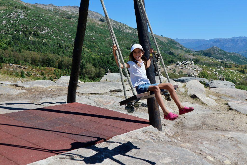 Swinging at the Porta do Mezio