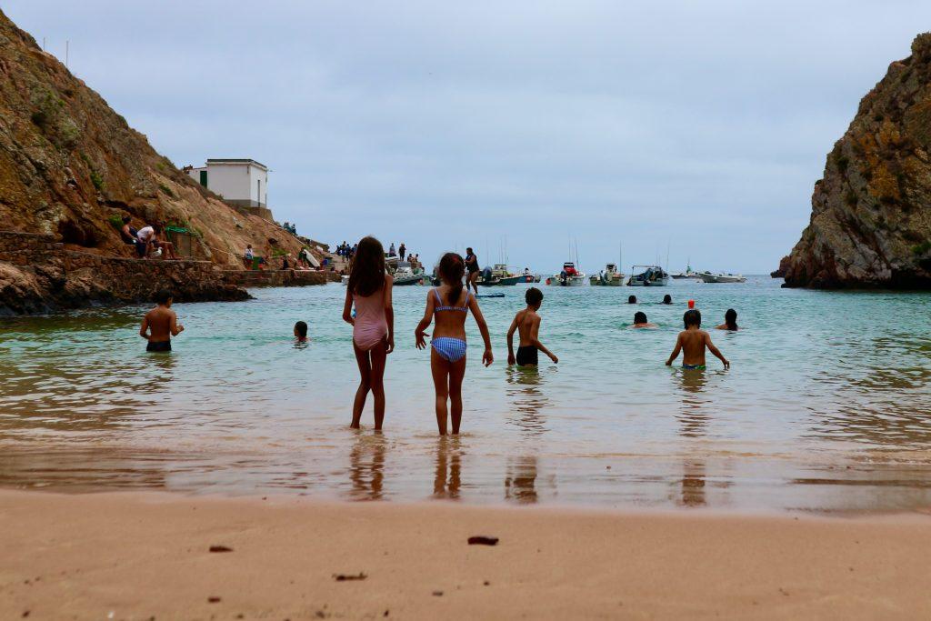 Beach at Berlenga Grande